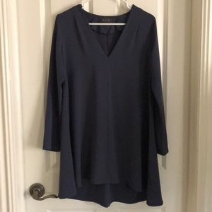 ASTR Blue/Gray Dress